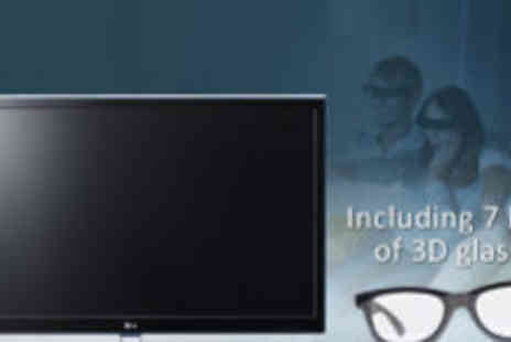 Giant Buyer - LG 32 inch 32LW450U FHD CINEMA LED TV Plus gold plated HDMI Cable and 7 sets of 3D glasses - Save 94%