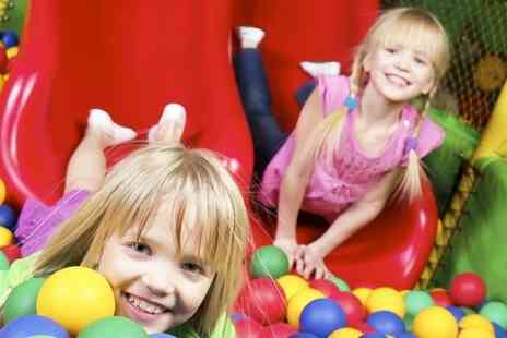 Fun4All and Monkey Bizness - Indoor Play  Summer Season Pass For One - Save 52%