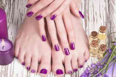 Depilex Health and Beauty Clinic - 90 Minute Luxury Manicure and Pedicure  - Save 66%