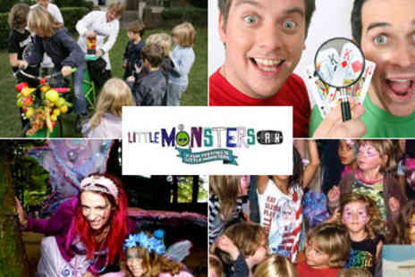 Little Monsters Bash -  Peppa Pig, Dick and Dom, The Octnauts Waybuloo and more  - Save 50%