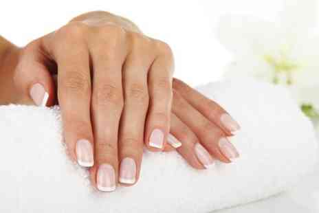 Fusion Hair Beauty  - Deluxe Gel Nails or Pedicure  - Save 46%