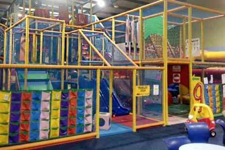 Go Kids Go - Entry to Soft Play  For One - Save 27%