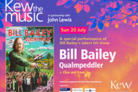 Kew The Music - Tickets to Bill Bailey  - Save 40%