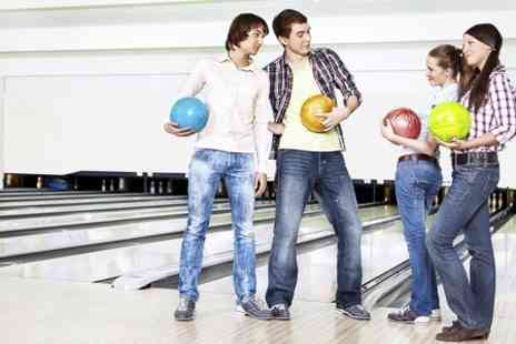 The Bowl Bromborough - Three Hours Bowling With Pizza For Four  - Save 72%