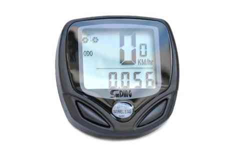 Suga Rush Love - Wireless LCD Cyclist Speedometer - Save 71%