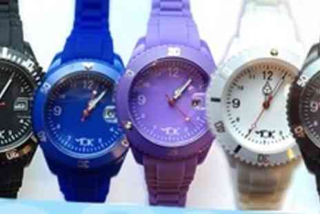Tick Tok - One Fashion Sport Watches in Choice of Colours - Save 60%