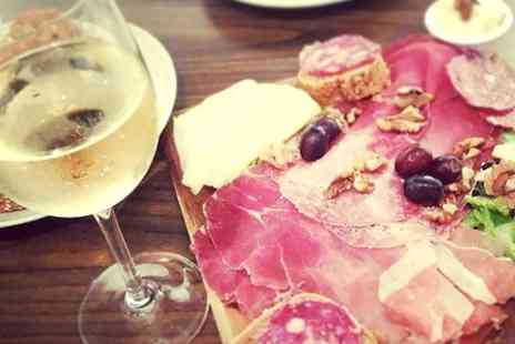 Veeno - Wine Tasting With Italian Tapas For Two - Save 53%