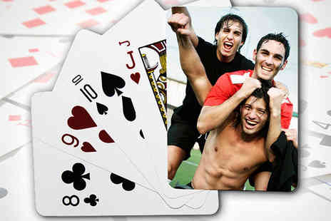 Uk Photo Deals - Personalised Photo Playing Cards - Save 63%