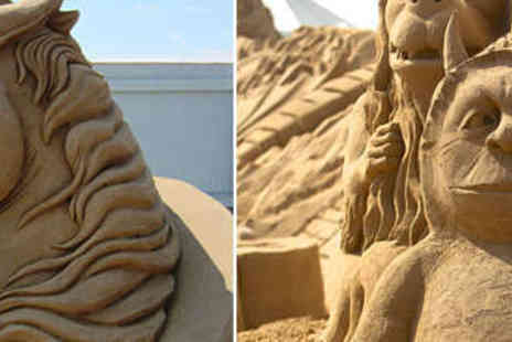 Weston Sand Sculpture Festival - Two Adult Tickets to Weston Sand Sculpture Festival  - Save 50%