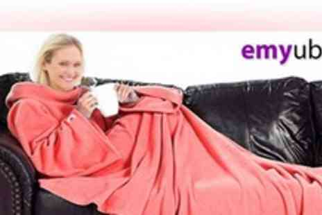 Emyub - Cosy Sofa Blanket with sleeves in a choice of colours - Save 70%