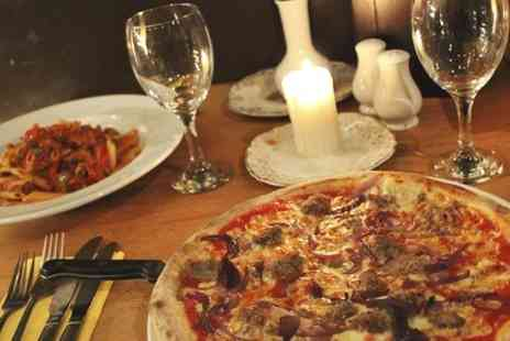 Esca Italian Restaurant - Two Course Italian Meal With Wine For Two  - Save 49%