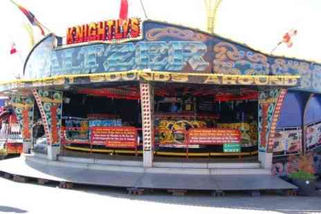 Knightlys Funfair - All Day Entry to Knightlys Funpark  - Save 50%