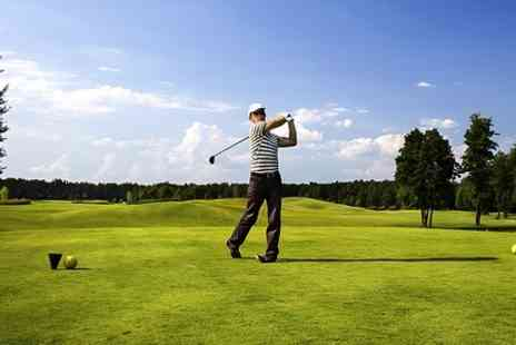 Glendale Golf  - Full Day Plus Bacon Roll For Two - Save 72%
