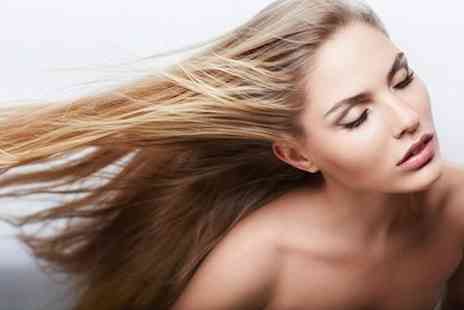 Fusion Hair, Beauty & Nails - Half head or T-section of highlights, with wash, cut or re style, blow dry and treatment - Save 50%