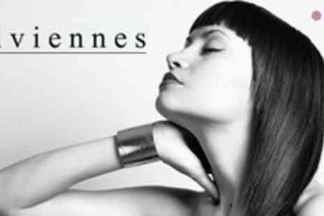 Viviennes - Cut and Finish With Conditioning Treatment and Cocktail Plus Spray Tan - Save 69%