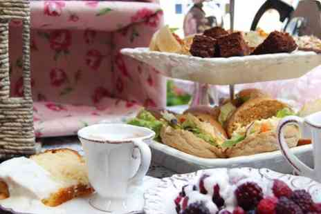 Toast Cafe Bar - Pimms Afternoon Tea For Two - Save 70%