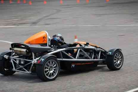The Real Gran Turismo - Three Lap Passenger Thrill Ride in MX 5 or Ariel Atom - Save 52%