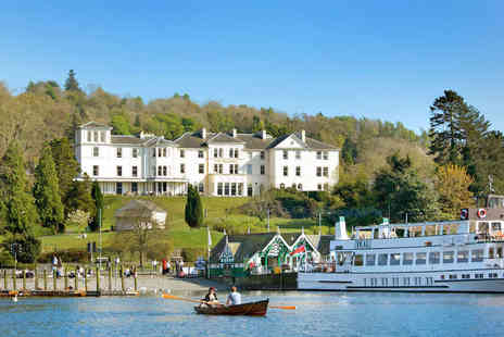 The Belsfield Hotel - One Night Lake Windermere Getaway for Two with Breakfast  - Save 50%