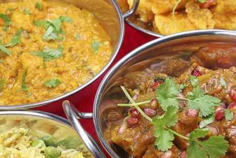 Haveli Restaurant - Two Course Indian Meal With Sides For Two  - Save 60%