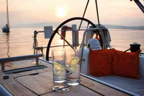 Escape Yachting -  Luxury Summer Yacht Trip with Dinner & Bubbly - Save 50%