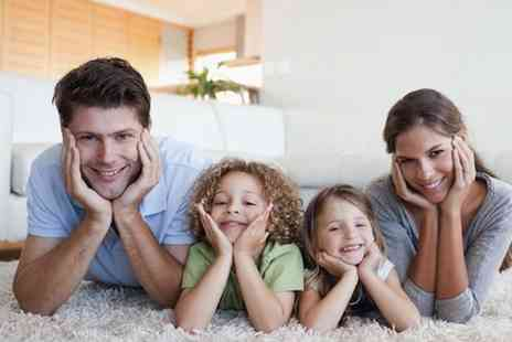 Magic Clean - Two Standard Room Carpet Cleaning - Save 64%