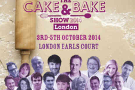 The Cake & Bake Show - Entry for Two or More People to The Cake & Bake Show 2014 at Earls Court - Save 25%
