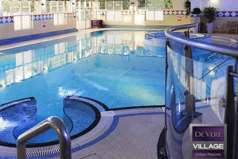 De Vere Village Cheadle - Ten Day Passes to Leisure Club Including Access to Pool Gym, Sauna, Steam Room, and Jacuzzi - Save 90%