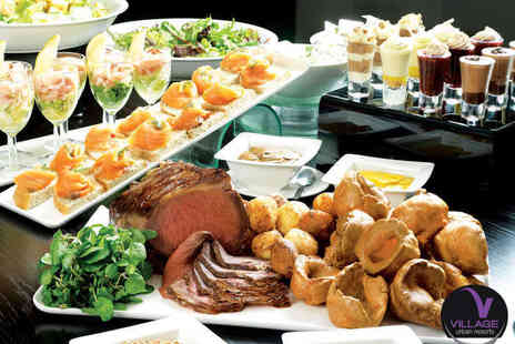 De Vere Village Urban Resort Hotel - You Can Eat Sunday Lunch for Two  - Save 50%