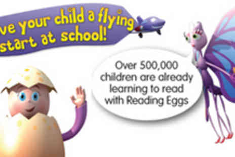 Reading Eggs - 12 month subscription to an online childrens reading program - Save 55%