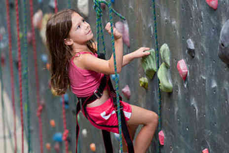 Undercover Rock - 60 Minute Introductory Family Indoor Rock Climbing Session for One Child - Save 50%