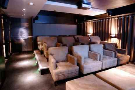 Eight Club Moorgate - Private Cinema Movie Night For One - Save 50%