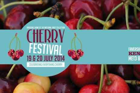 Brogdale Collections - Family Ticket to Brogdale Cherry Festival  - Save 50%