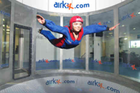Airkix - Indoor Skydiving Experience with DVD and Photo for One - Save 65%