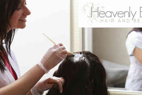 Heavenly Body - Haircut, highlights and head massage all for just £25! - Save 62%