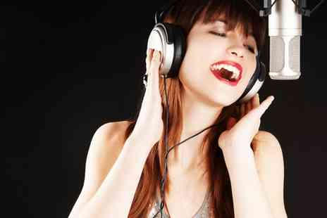 Non Stop Studios - Recording studio session with CD for up to 2 - Save 81%