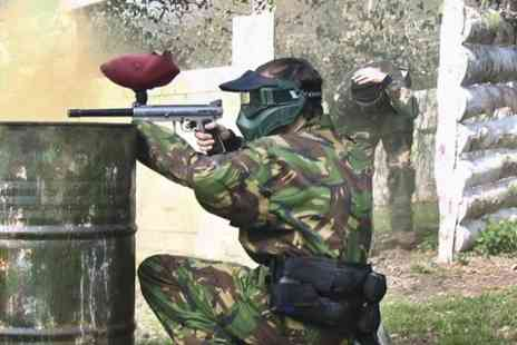Project Paintball - Full Day Paintball With Light Lunch For Two - Save 50%
