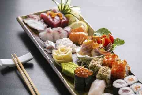 Tokyo Season - Sushi or Japanese Platter with Drinks - Save 50%