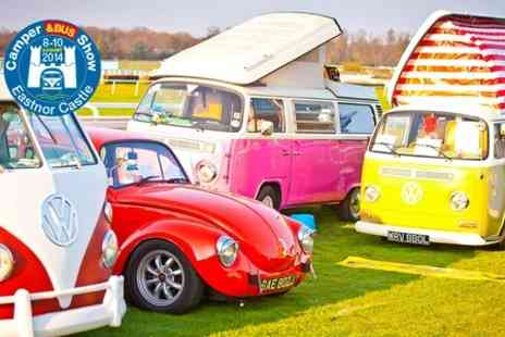 The Camper&Bus VW Show - Adult Ticket £8 With Free Entry For Under 16s at VW Show  - Save 100%