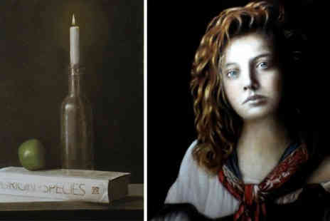 The Renaissance Atelier  - Classical Intermediate Oil Painting Course - Save 56%