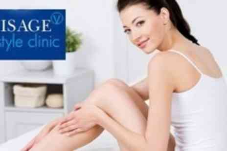 Visage Lifestyle Clinic - Six Sessions of IPL Hair Removal on Two Small or One Large - Save 75%