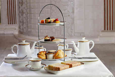The Waldorf Hilton - Afternoon tea for 2 including a glass of rosé bubbly - Save 58%