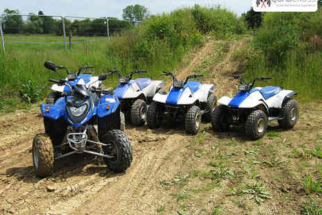 KJB Quad Cross - Quad Biking Experience Monday to Friday - Save 67%