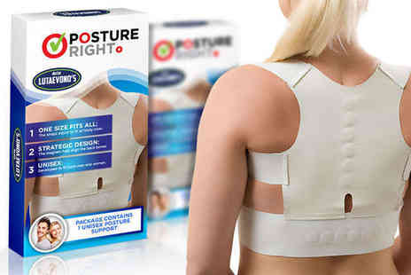 Lightweight Posture - Posture Right Support Vest - Save 86%