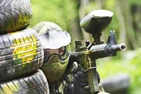 Blind Fire Paintball - Day Long Paintball Session With 100 Balls Plus Lunch - Save 50%