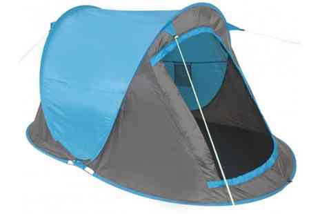 Stock Nation Camping - Fast Pitch 2 Person Tent  - Save 42%