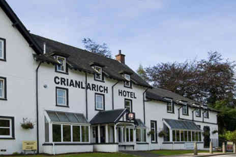 UK Mini Break - Two nights with dinner at The Crianlarich Hotel  - Save 61%