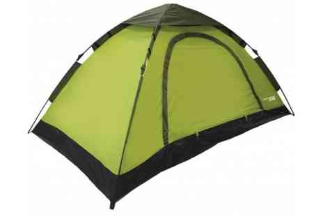 Stock Nation Camping - YellowStone Rapid 2 or 4 Man Tent with Canopy - Save 63%