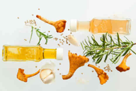 VOM FASS - Spirits Oils and Dressings Tasting Experience with Cheese and Breads - Save 50%