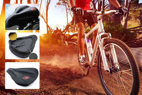 E ville - Cushioned Bike Seat Cover - Save 47%
