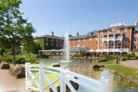 Alton Towers Resort - one night relaxing spa stay for two including breakfast worth - Save 52%